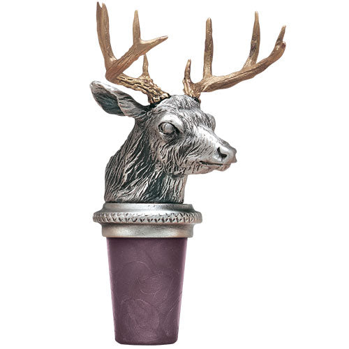 WHITETAIL DEER BOTTLE STOPPER