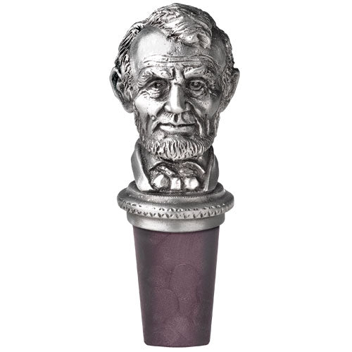 ABE LINCOLN BOTTLE STOPPER