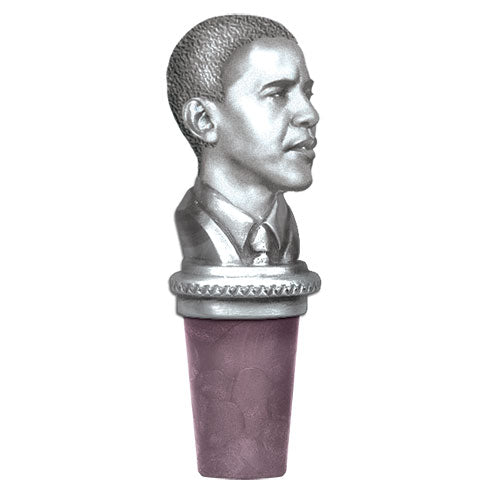 BARACK OBAMA BOTTLE STOPPER