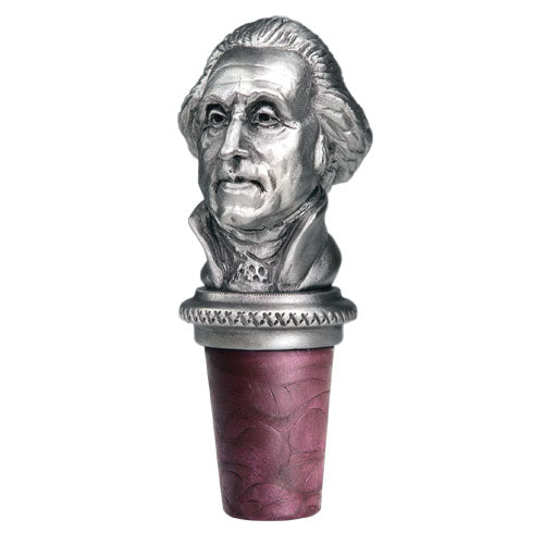 GEORGE WASHINGTON BOTTLE STOPPER