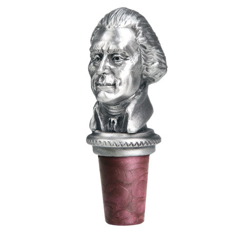 THOMAS JEFFERSON BOTTLE STOPPER