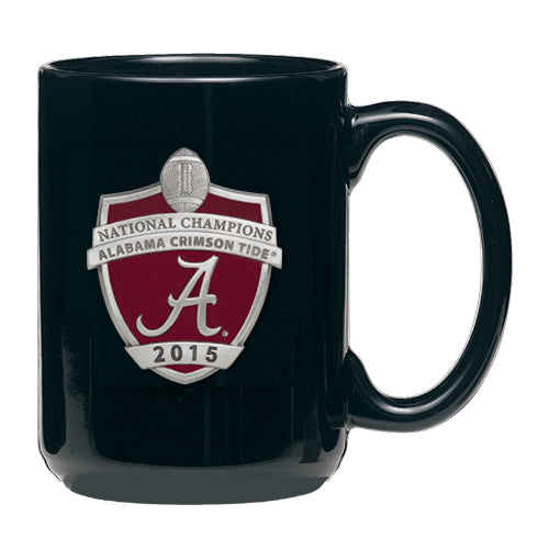 UNIVERSITY OF ALABAMA NATIONAL CHAMPIONS 2015 COFFEE MUG