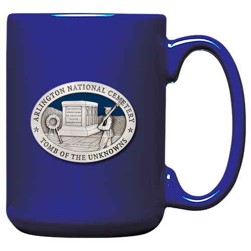 Arlington National Cemetery Tomb of the Unknowns Blue Coffee Mug