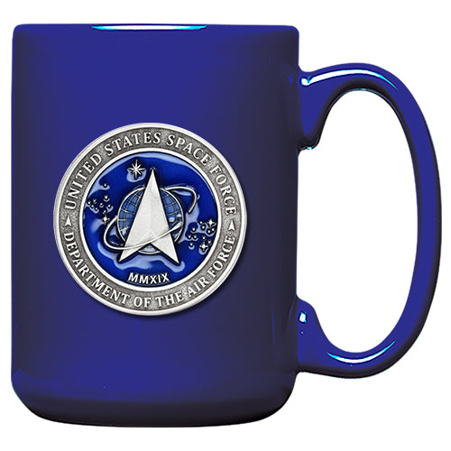 United States Space Force Blue Coffee Mug