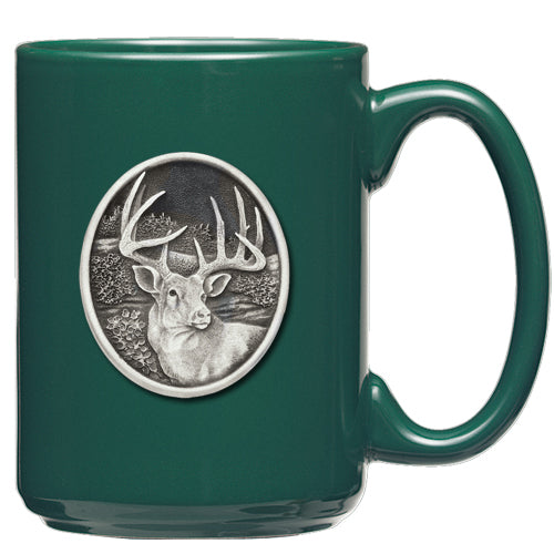 WHITETAIL DEER COFFEE MUG
