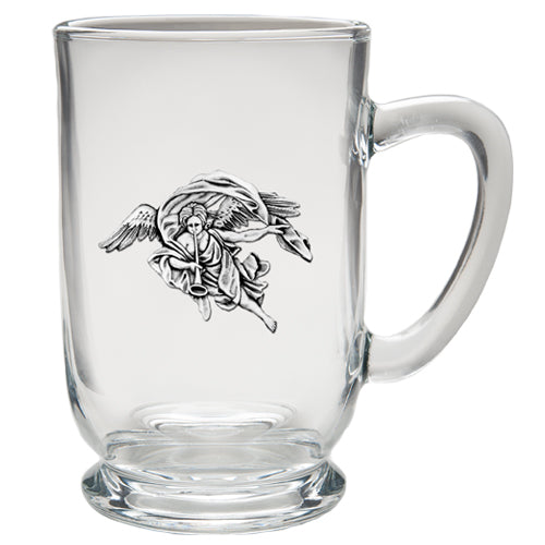 TRUMPET ANGEL COFFEE MUG