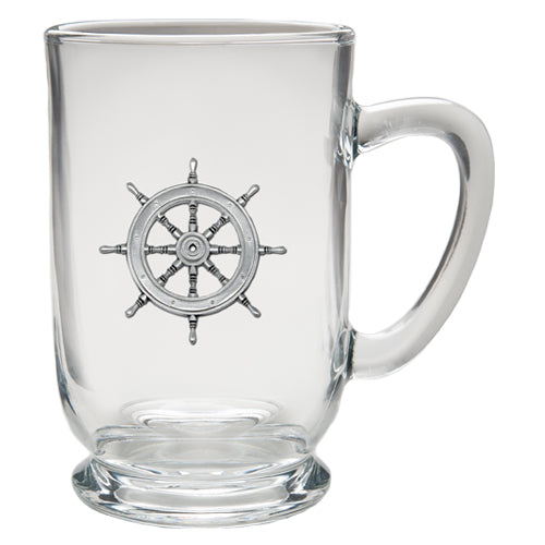 SHIP WHEEL COFFEE MUG