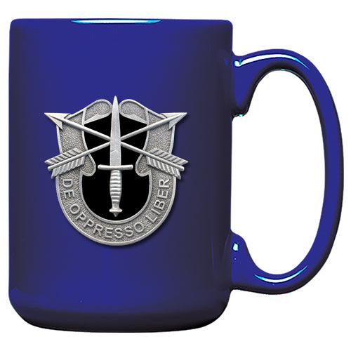 Special Forces Blue Coffee Mug