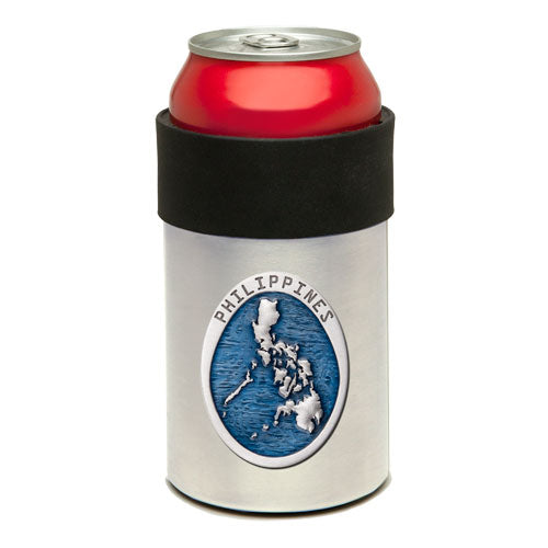 PHILIPPINES MAP CAN COOLER