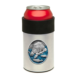 BROWN BEAR CAN COOLER