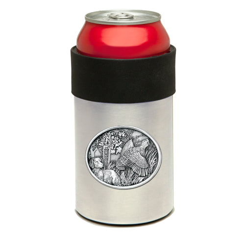 BOBWHITE QUAIL CAN COOLER
