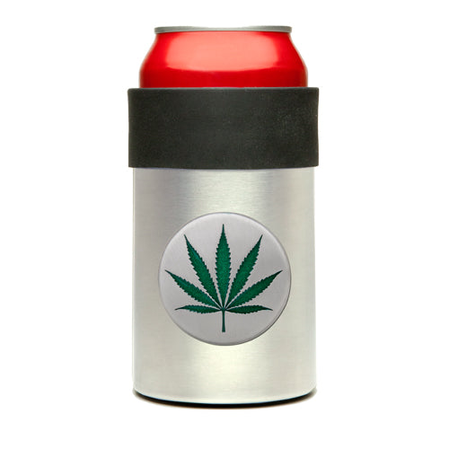 Marijuana LEAF CAN COOLER