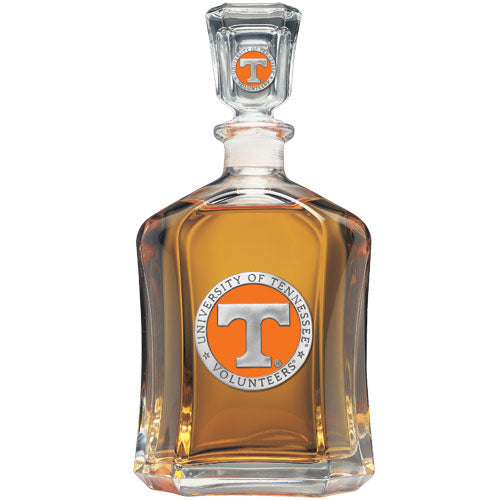 University of Tennessee Capitol Decanter with travel mugs capitol decanter double old fashioned glass flask keg mug stein money clip stein pitcher salt & pepper money clip goblets flask wind chime pint stein wine chiller