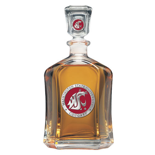 WASHINGTON STATE UNIVERSITY CAPITOL DECANTER