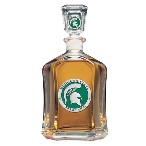 MICHIGAN STATE UNIVERSITY CAPITOL DECANTER
