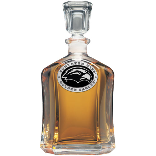 UNIVERSITY OF SOUTHERN MISS CAPITOL DECANTER