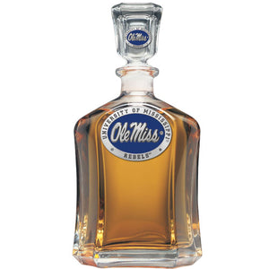 UNIVERSITY OF MISSISSIPPI CAPITOL DECANTER
