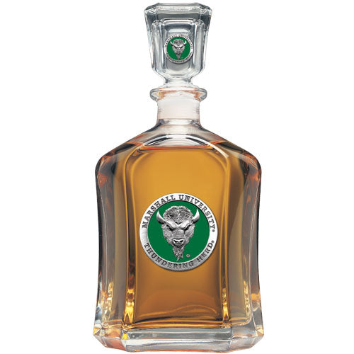 MARSHALL UNIVERSITY CAPITOL DECANTER