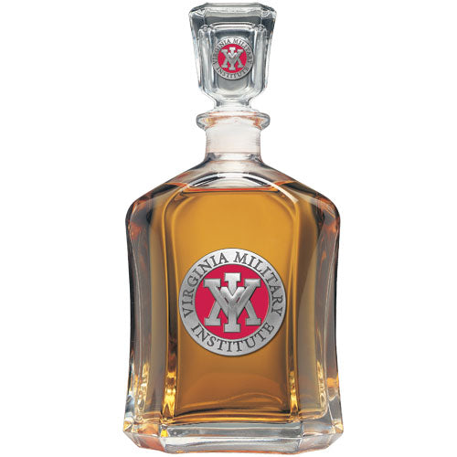 VIRGINIA MILITARY INSTITUTE CAPITOL DECANTER