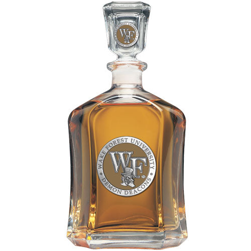 WAKE FOREST UNIVERSITY CAPITOL DECANTER