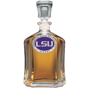 LSU LOUISIANA STATE UNIVERSITY CAPITOL DECANTER