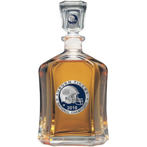 AUBURN UNIVERSITY NATIONAL CHAMPIONS 2010 CAPITOL DECANTER