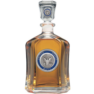 NAVY CAPITOL DECANTER