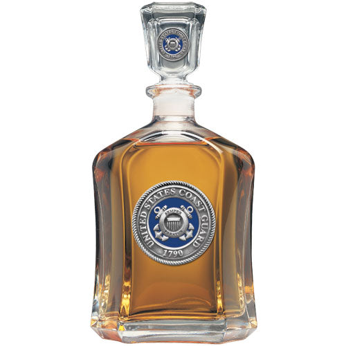 COAST GUARD CAPITOL DECANTER