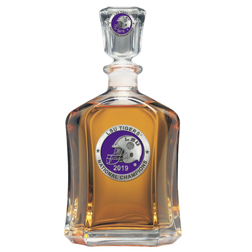 LSU NATIONAL CHAMPIONS 2019 CAPITOL DECANTER
