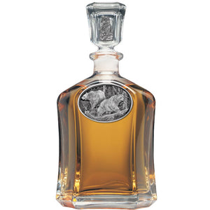 BLACK BEAR CAPITOL DECANTER