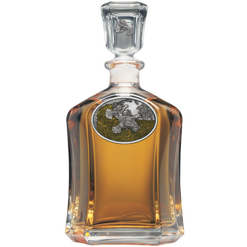 RUFFED GROUSE CAPITOL DECANTER