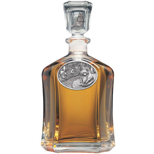 RACCOON CAPITOL DECANTER