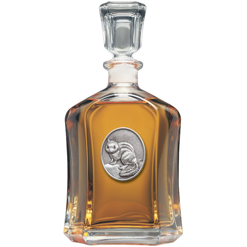 CHIPMUNK CAPITOL DECANTER