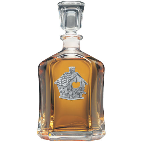 BIRDHOUSE CAPITOL DECANTER
