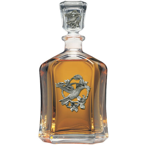 HUMMINGBIRD CAPITOL DECANTER