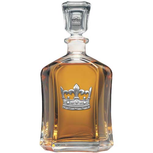 CROWN CAPITOL DECANTER