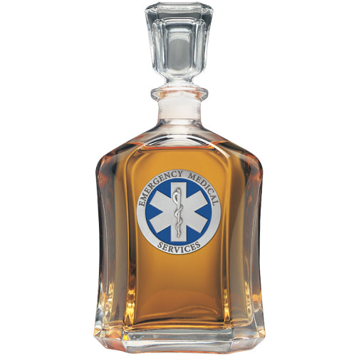 EMERGENCY MEDICAL CAPITOL DECANTER