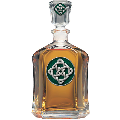 CELTIC KNOT CAPITOL DECANTER