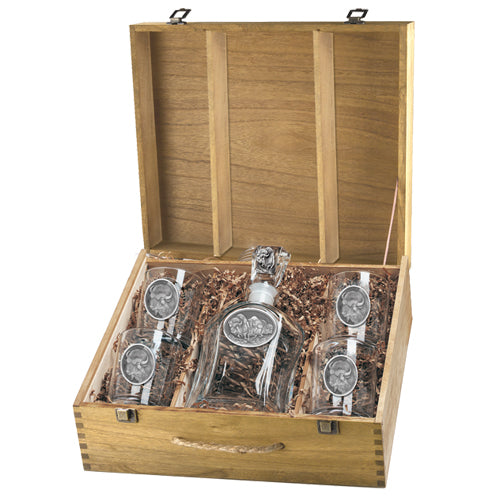 BUFFALO CAPITOL DECANTER BOX SET