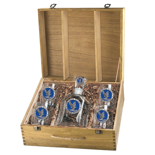 Air Force Academy Capitol Decanter Box Set