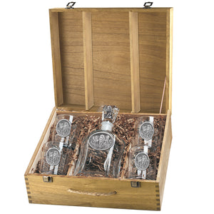 WOLVES CAPITOL DECANTER BOX SET