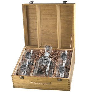 ELK CAPITOL DECANTER BOX SET