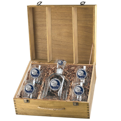 AUBURN UNIVERSITY NATIONAL CHAMPIONS 2010 CAPITOL DECANTER BOX SET
