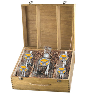 KENNESAW STATE UNIVERSITY CAPITOL DECANTER BOX SET