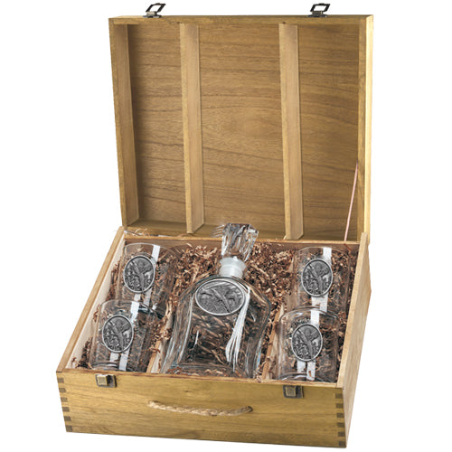 PHEASANT CAPITOL DECANTER BOX SET