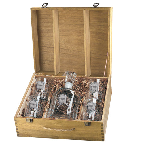 ALASKA CAPITOL DECANTER BOX SET
