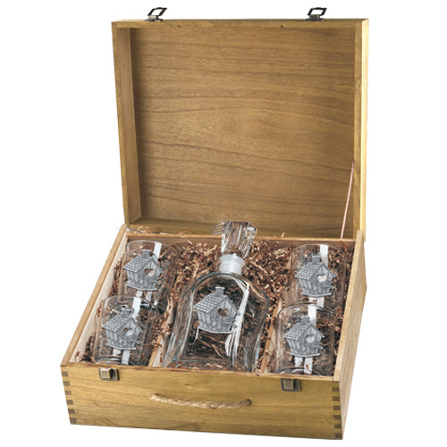 BIRDHOUSE CAPITOL DECANTER BOX SET