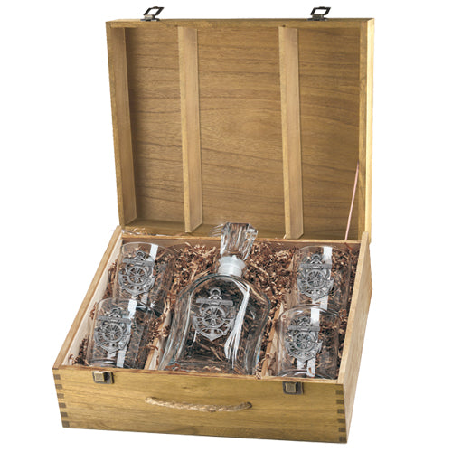 ANCHOR CAPITOL DECANTER BOX SET