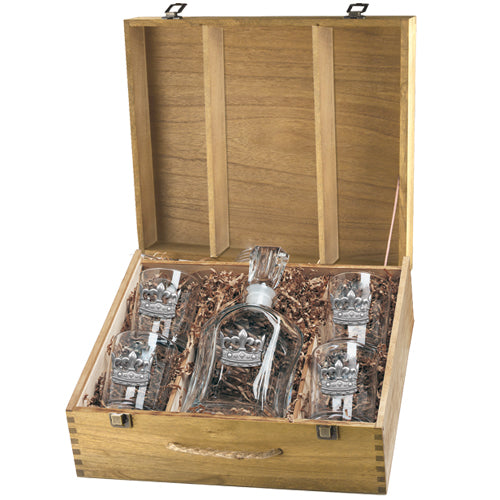 CROWN CAPITOL DECANTER BOX SET