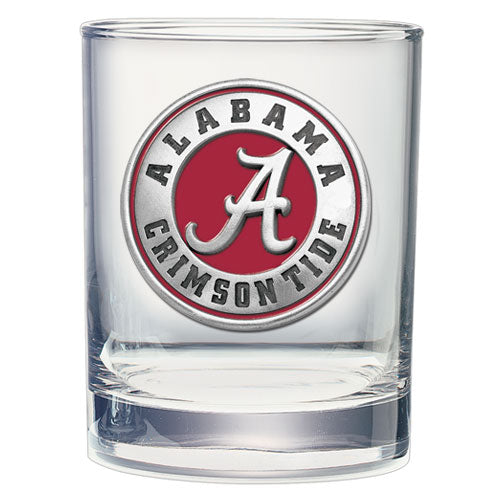 Alabama Crimson Tide Clear Glass